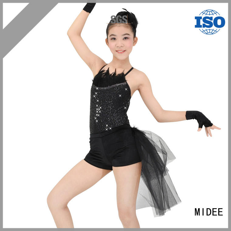 MIDEE Breathable dance costume get quote events