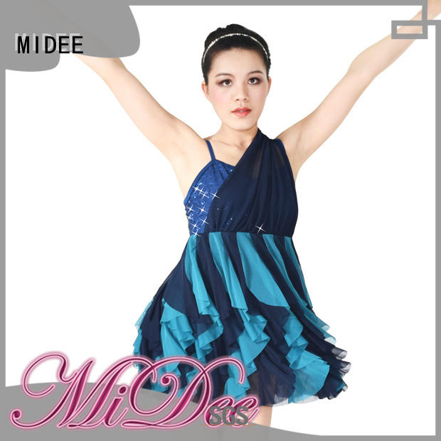 MIDEE professional dress jazz dance dress manufacturer show