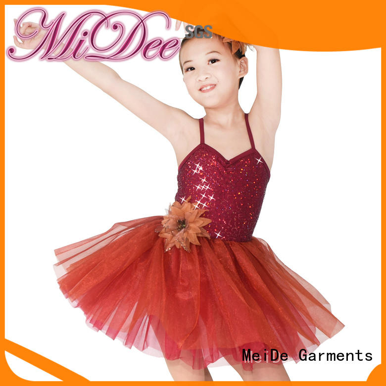 comfortable ballet attire lace odm competition
