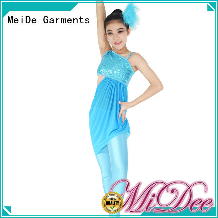 MIDEE odm girls jazz costumes customization dancer