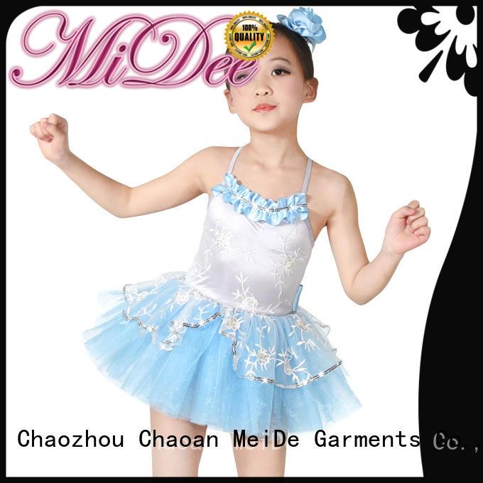 MIDEE velvet ballet costumes odm show