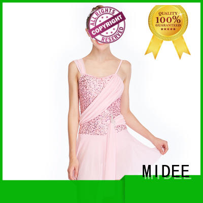 MIDEE highlow two piece lyrical dance costumes dance clothes stage