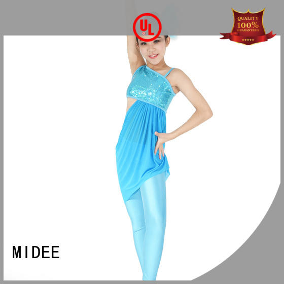 MIDEE professional dress jazz clothing for wholesale dance school