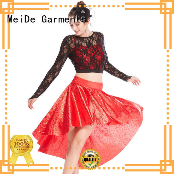 MIDEE odm jazz costumes dance solo customization competition