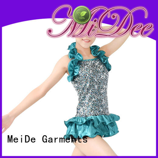 MIDEE odm jazz dance costumes for competition customization show