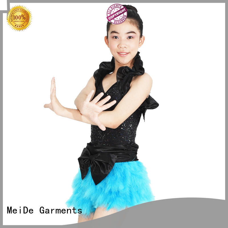 odm girls jazz costumes top manufacturer performance
