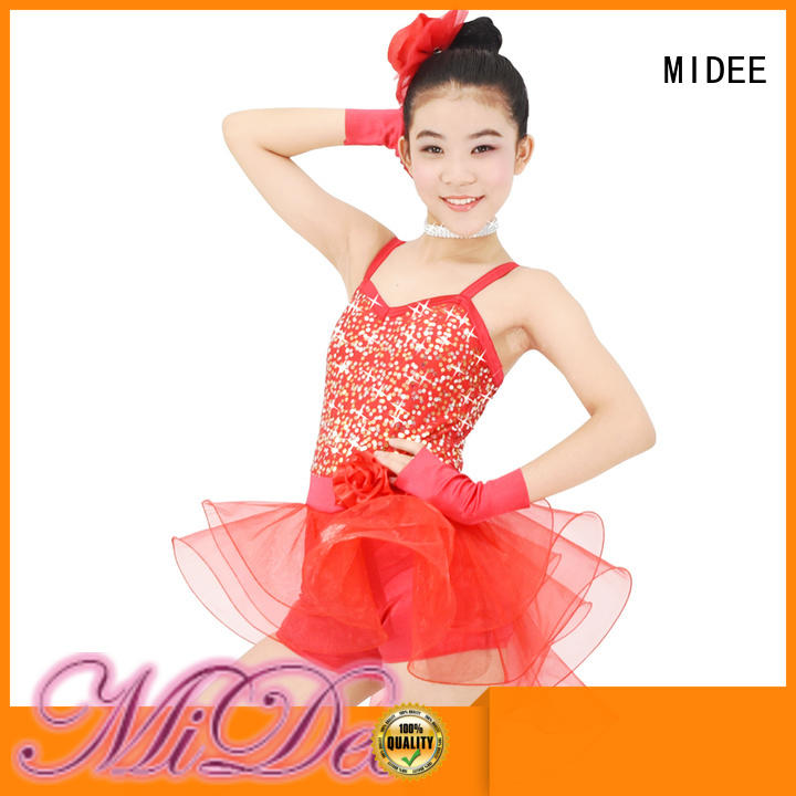 MIDEE swan ballet clothes odm Stage