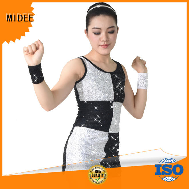 wear jazz dance costumes for girls floral performance MIDEE