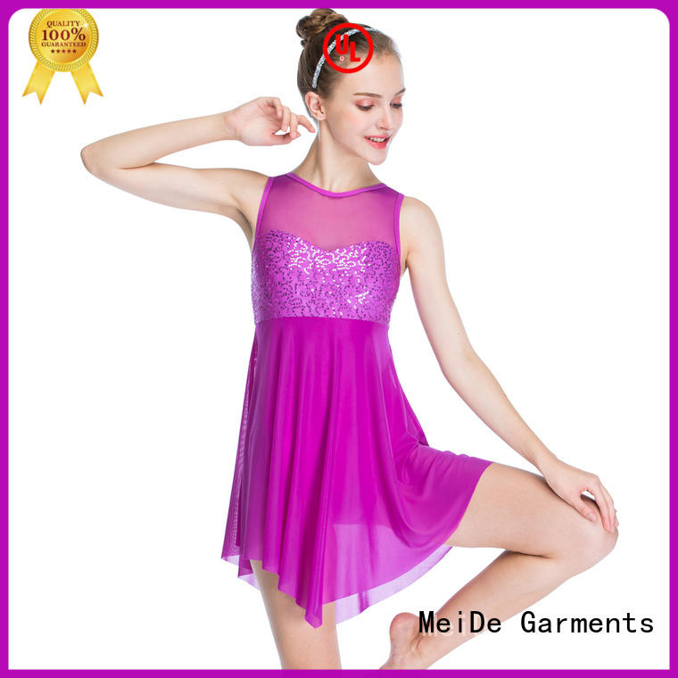MIDEE adjustable ballet leotards for girls bulk production Stage