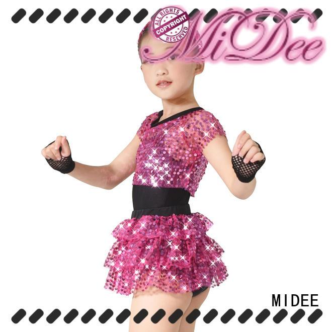 MIDEE comfortable ballet leotards odm dance school