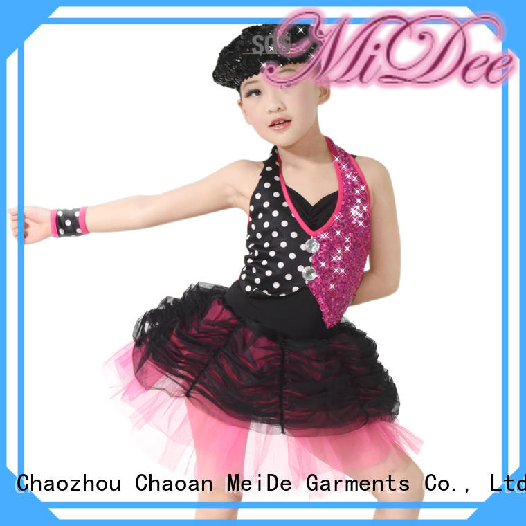 MIDEE swan ballet wear factory price competition