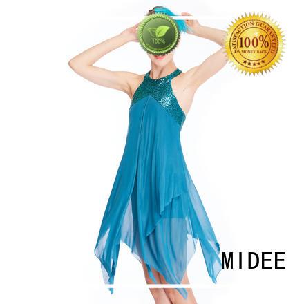 MIDEE OEM lyrical dance outfits custom stage