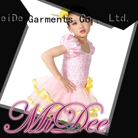 anti-wear kids ballet outfit lace odm competition