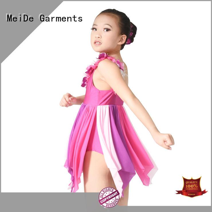 MIDEE comfortable ballet dress toddler bulk production dance school