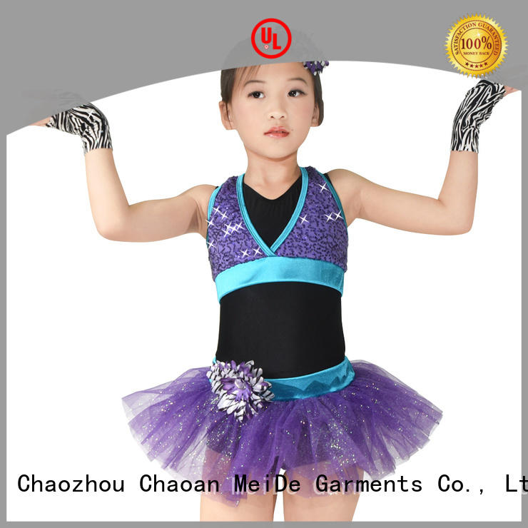 MIDEE anti-wear kids ballet outfit odm performance