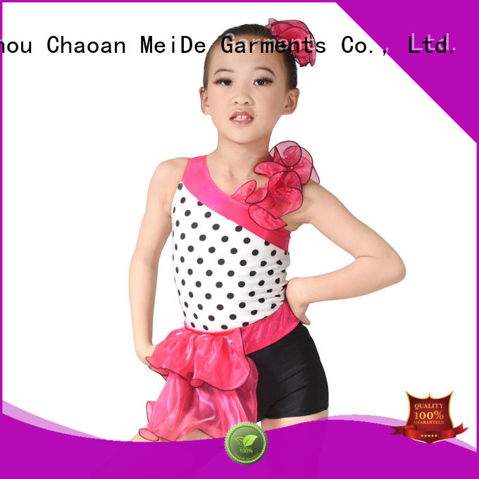 odm jazz costumes floral for wholesale competition