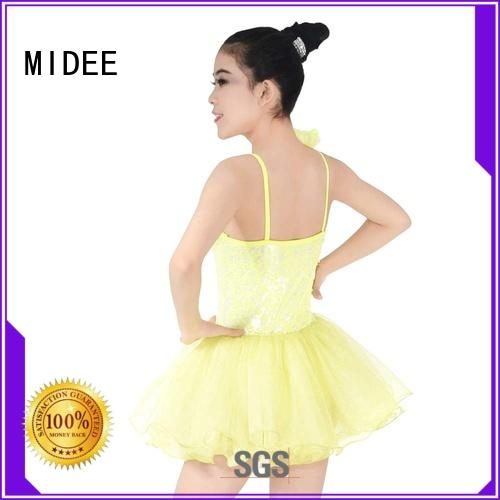 MIDEE anti-wear child ballet outfit factory price Stage