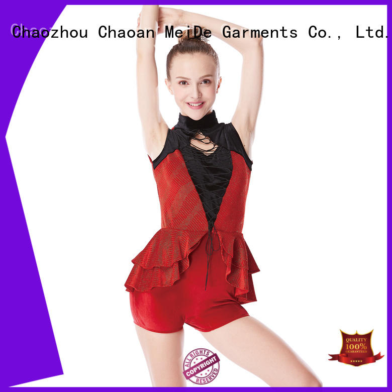 jazz dance costumes fringed manufacturer show