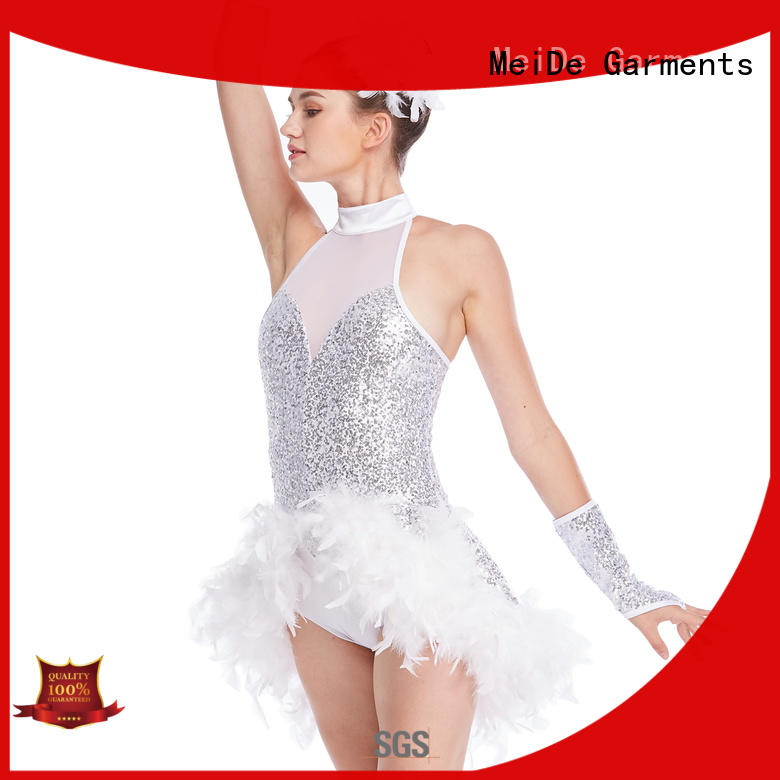 MIDEE professional dress adult jazz dance costumes sequined dancer