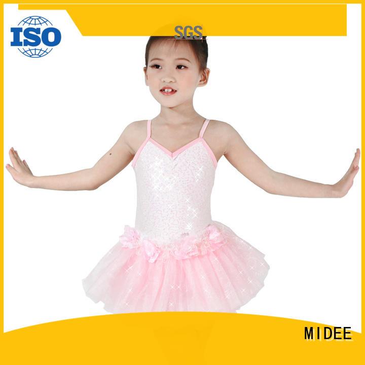 comfortable kids ballet dress shoulder odm show