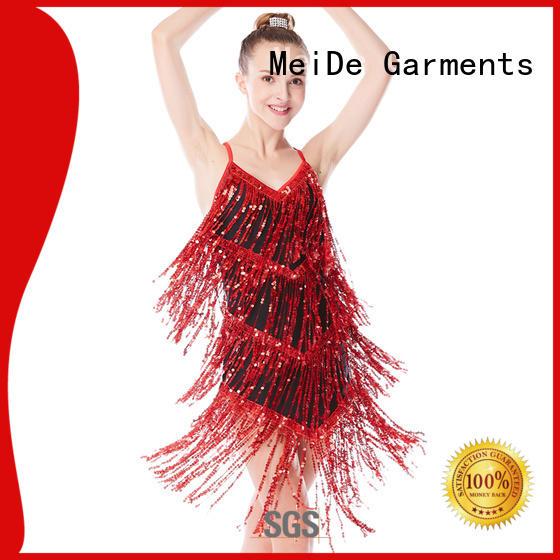 MIDEE mock jazz dance outfits customization performance