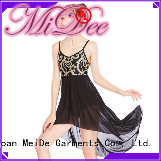 MIDEE tank adult dance clothes dance clothes competition