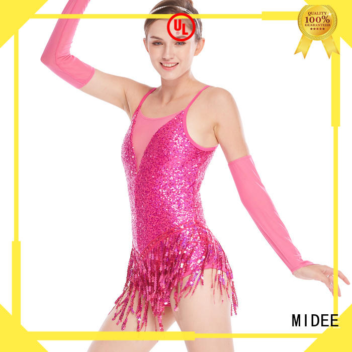 MIDEE fringe jazz costumes for kids for wholesale show
