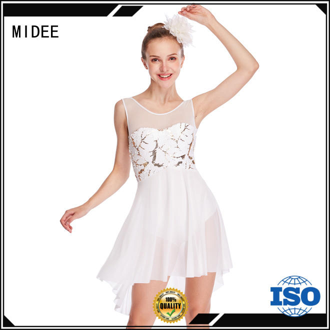 MIDEE modern lyrical dress dance clothes performance