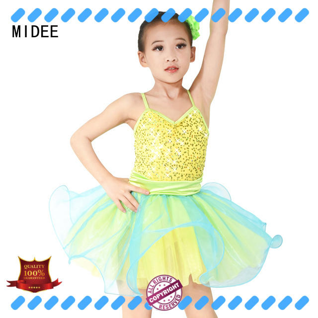 MIDEE comfortable kids ballet clothes bulk production dance school