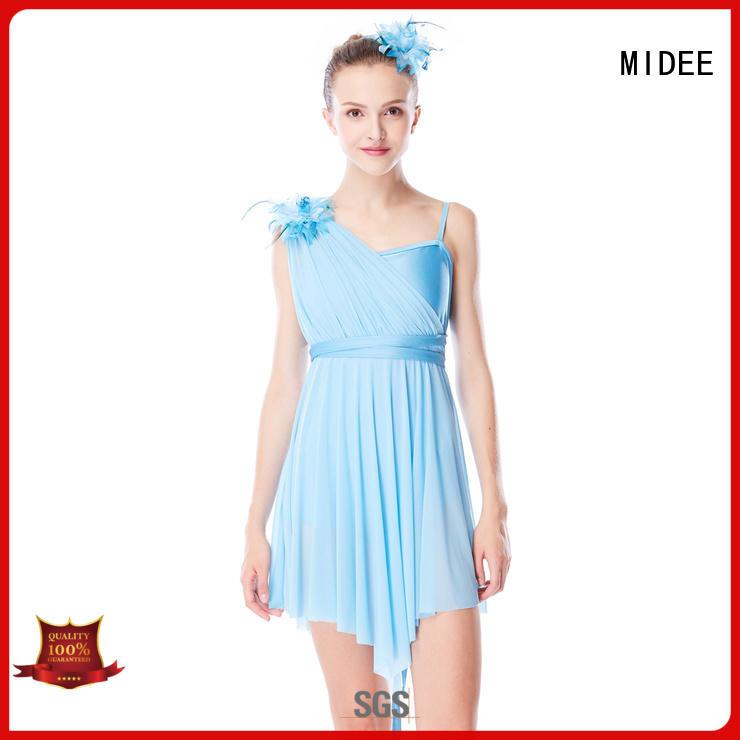OEM children's lyrical dance costumes custom show MIDEE