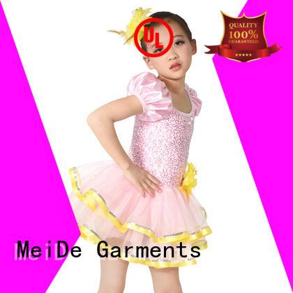 MIDEE top kids ballet clothes odm show