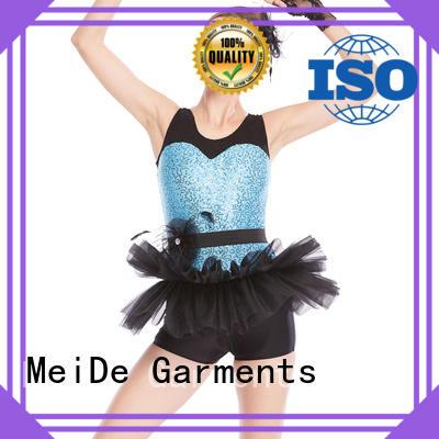 adjustable kids ballet outfit performance odm dance school