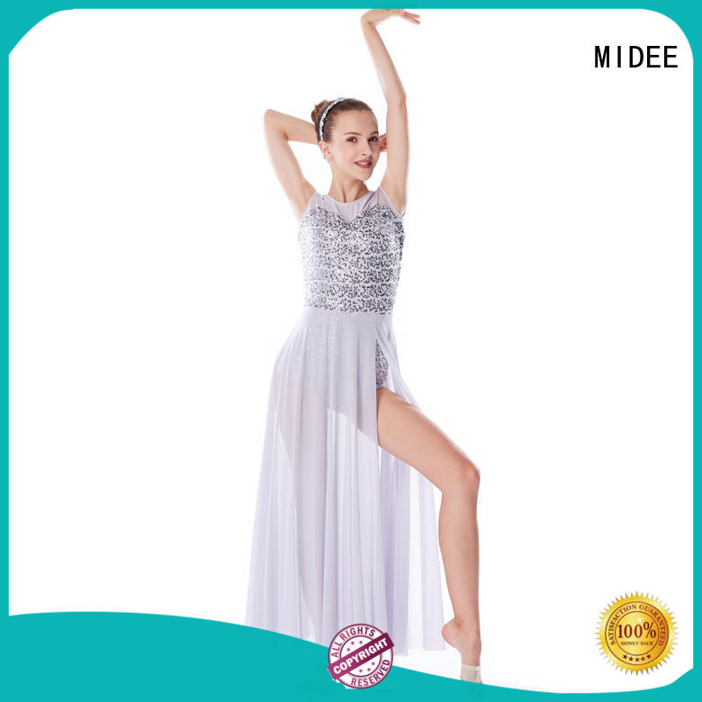 customization lyrical dance outfits oneshoulder custom competition
