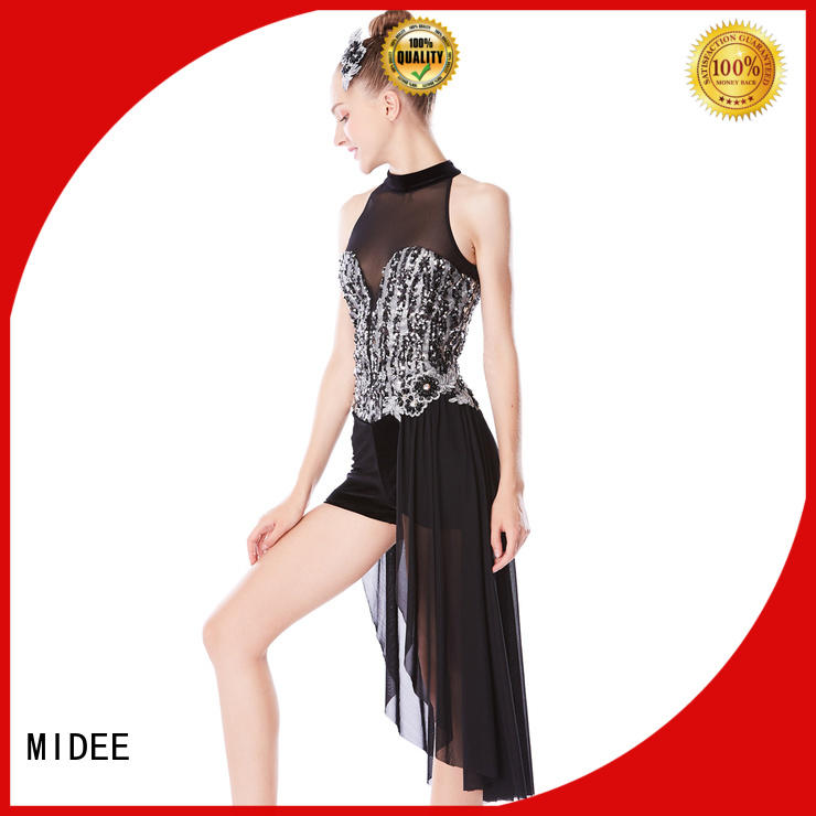 MIDEE floral jazz costumes dance solo manufacturer performance
