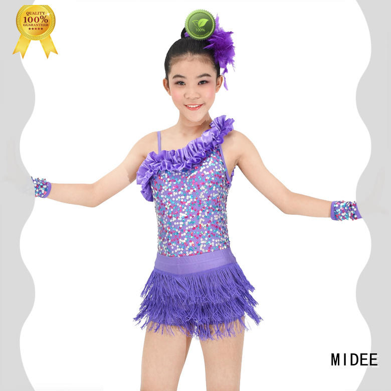 MIDEE contrasting dance costumes jazz for wholesale show