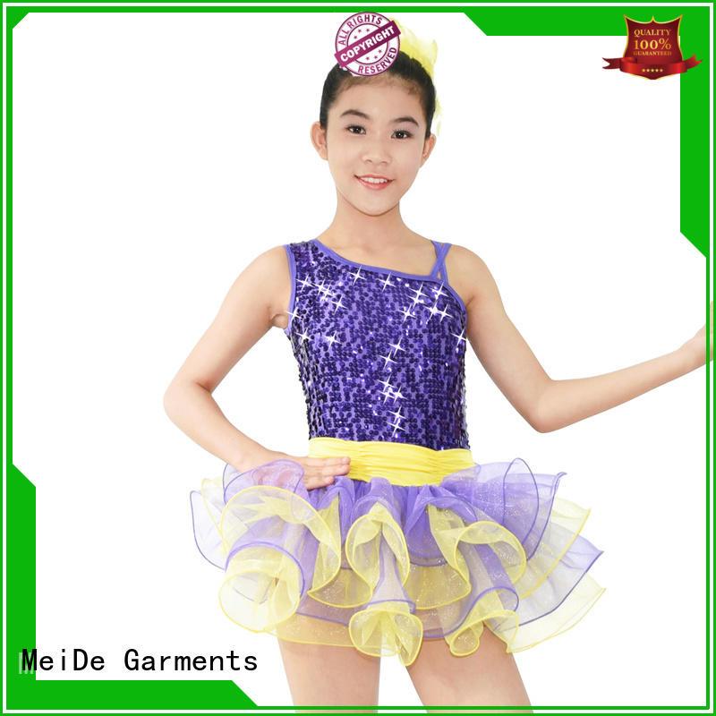 MIDEE comfortable kids ballet outfit factory price dance school