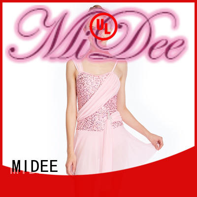 MIDEE customization two piece lyrical dance costumes dance clothes show