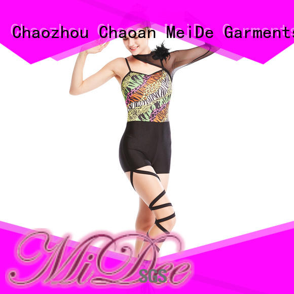 odm jazz dance outfits wear for wholesale competition