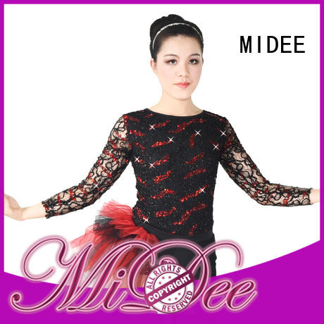 MIDEE professional dress jazz dance costumes for wholesale dance school
