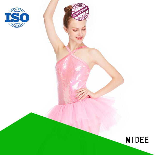MIDEE sleeves kids ballet outfit factory price show