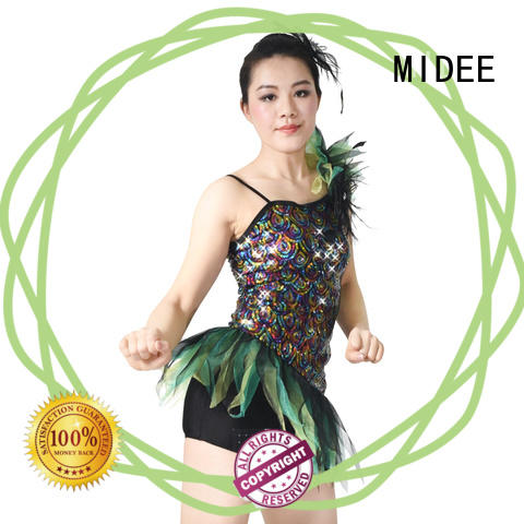 professional dress jazz costumes for kids bow for wholesale Stage