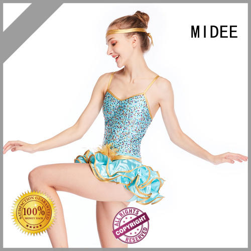 MIDEE contrasting latin dance costumes for wholesale Stage