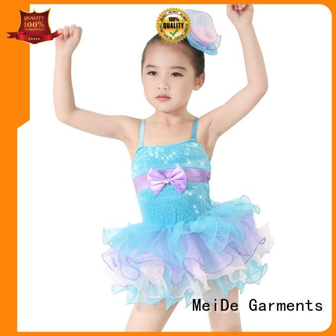 MIDEE swan kids ballet dress bulk production show
