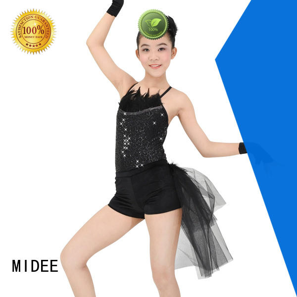 MIDEE comfortable toddler ballet clothes odm show
