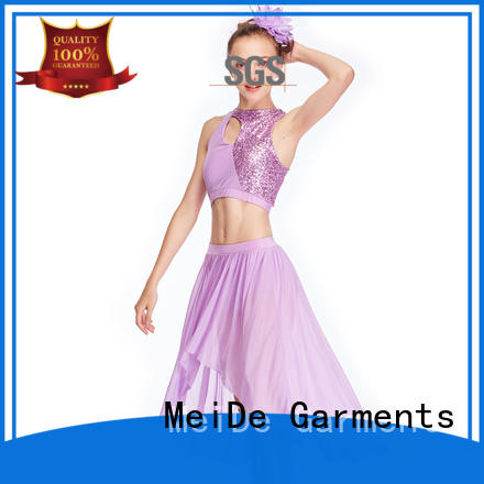 MIDEE performance lyrical costumes for dance solo custom performance