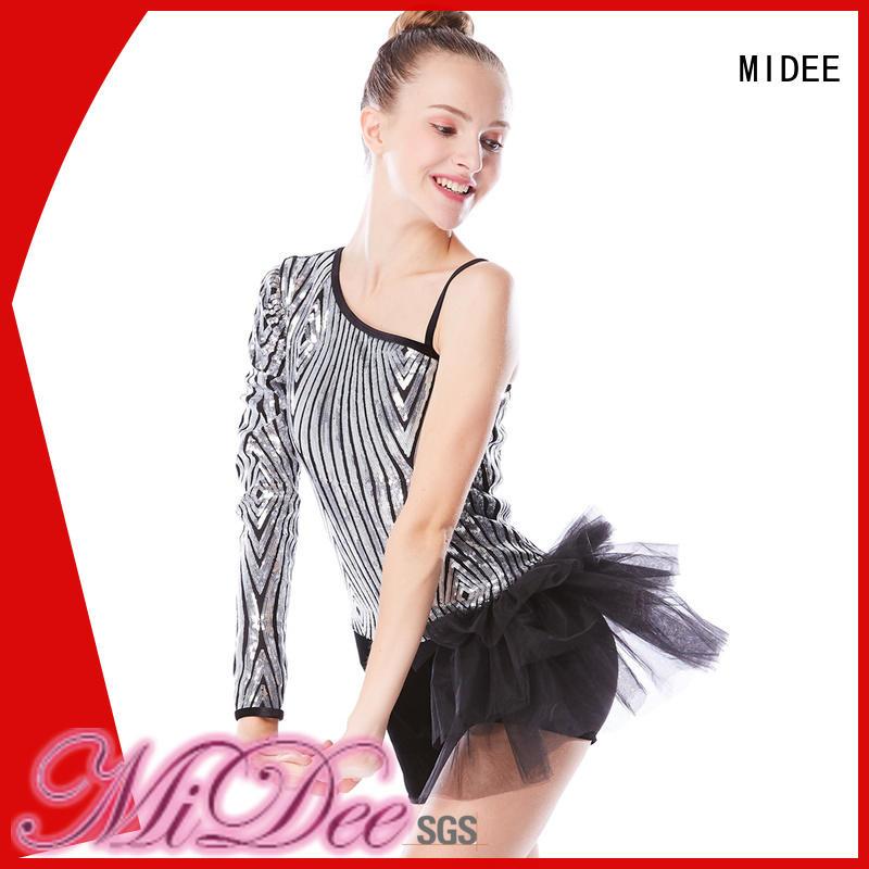 MIDEE velvet ballet attire odm performance