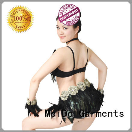 MIDEE neck dance costumes jazz customization Stage