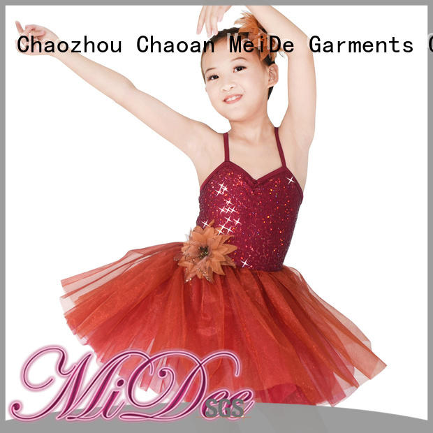 MIDEE comfortable ballet clothes for adults bulk production show
