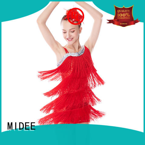 MIDEE performance jazz dance outfits customization Stage