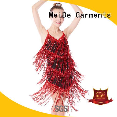 MIDEE odm jazz dance uniforms mock Stage